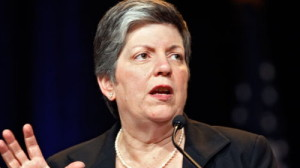 Janet Napolitano is the third United States Secretary of Homeland Security, in office since 2009.
