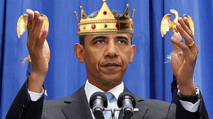 Barack Obama as the king