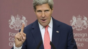 Kerry 'rhetorically' gives Syria 1 week to relinquish chemical weapons